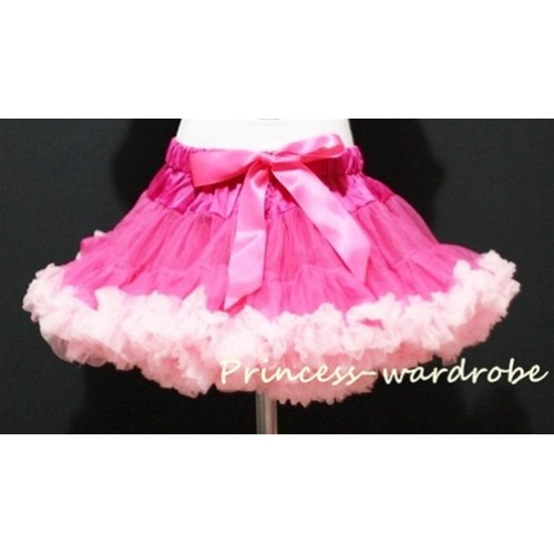 Hot Light Pink Pettiskirt P32