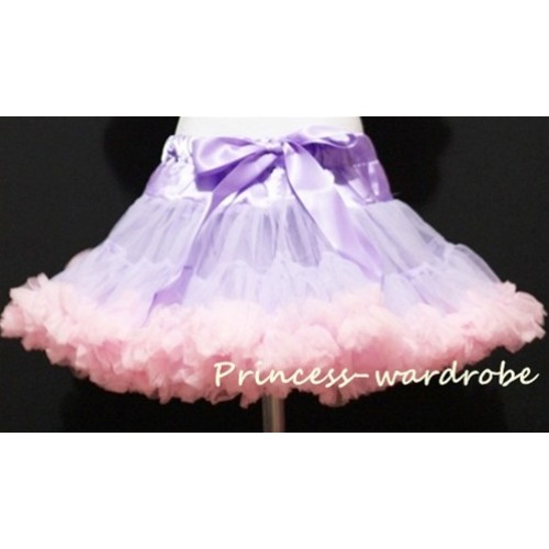Lavender Light Pink Pettiskirt P35