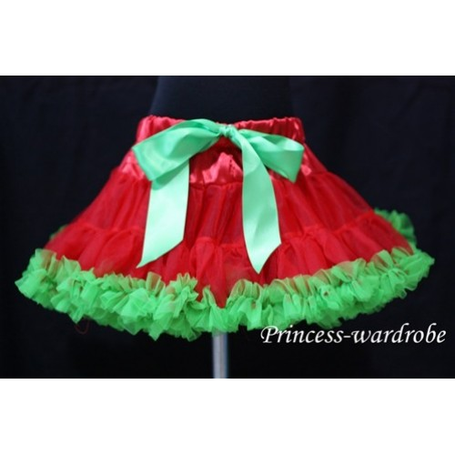Red Green Pettiskirt P36