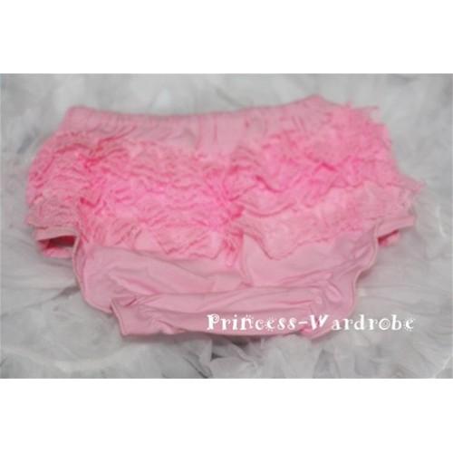 Light Pink Lace Panties Bloomers B30
