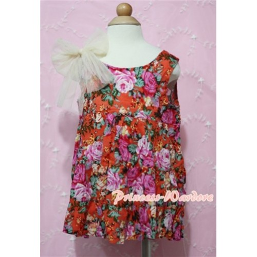 Floral Fusion Party Dress PD002