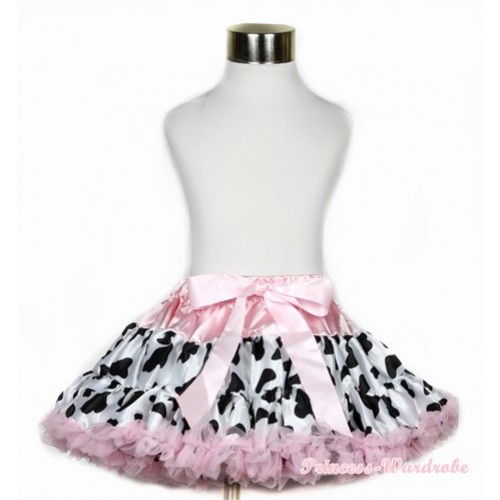 Light Pink Milk Cow Full Pettiskirt P167