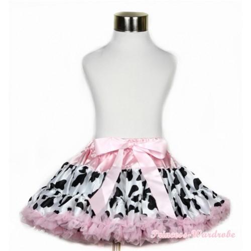 Light Pink Milk Cow Full Pettiskirt P167