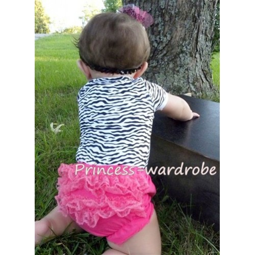 Hot Pink Lace Panties Bloomers B31