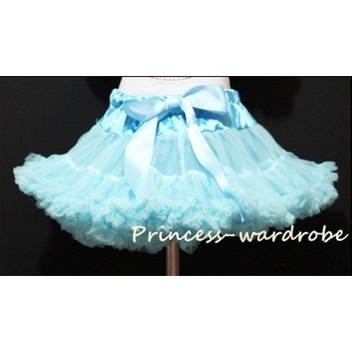 Light Blue Teen Full Pettiskirt XXL AP17