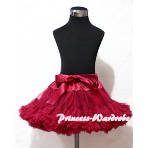 Raspberry Teen Full Pettiskirt XXL AP18