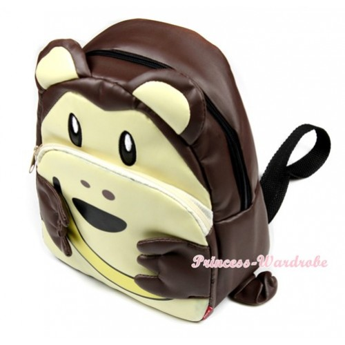 Monkey Cute Kids Backpack Animal School Shoulder Bag CB82