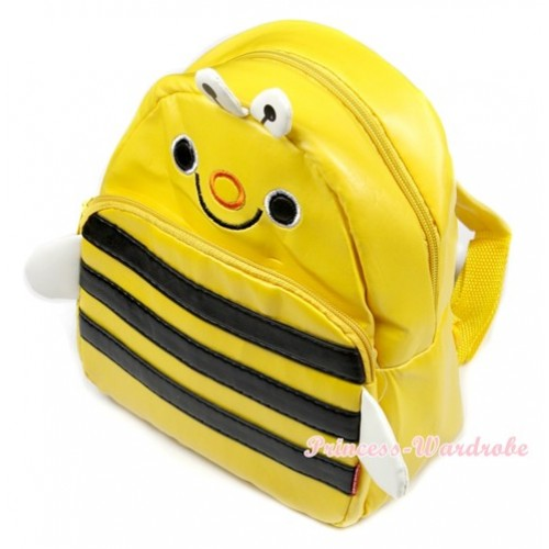 Honey Bee Cute Kids Backpack Animal School Shoulder Bag CB84