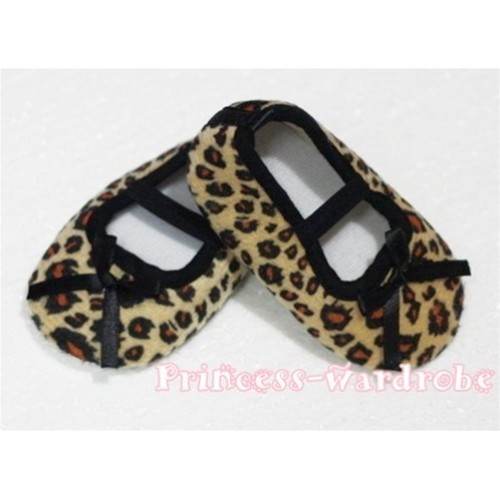 Baby Leopard Crib Shoes S40