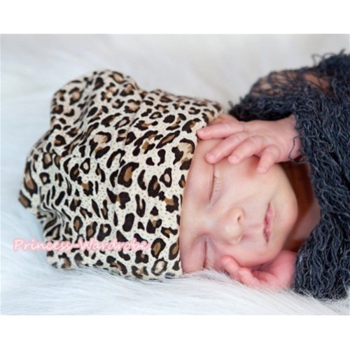 Baby Leopard Jumpsuit Cap TH213