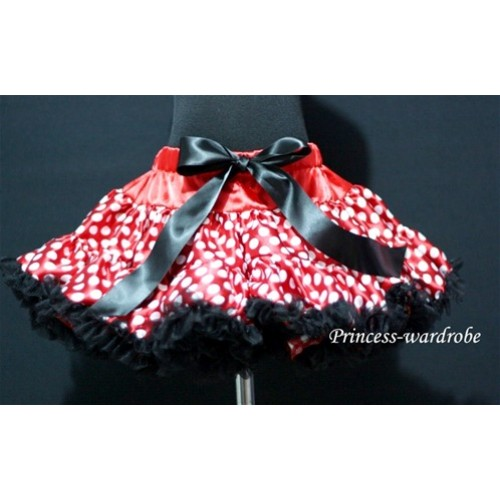 Minnie Red White Polka Dots Teen Full Pettiskirt XXL AP22