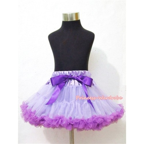 Lavender Dark Purple Pettiskirt P94