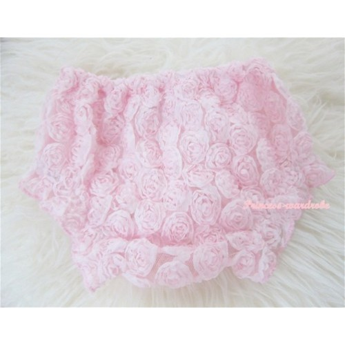 Light Pink Romantic Rose Panties Bloomers BR25