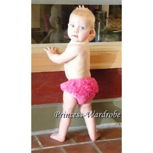 Hot Pink Ruffles Bloomers B07