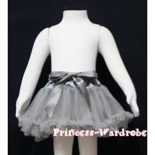 Grey Baby Pettiskirt N57