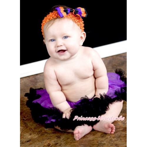 Dark Purple Black New Born Pettiskirt N55