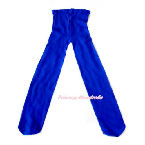 Plain Royal Blue Leggings Skinny Pants Tights LG243