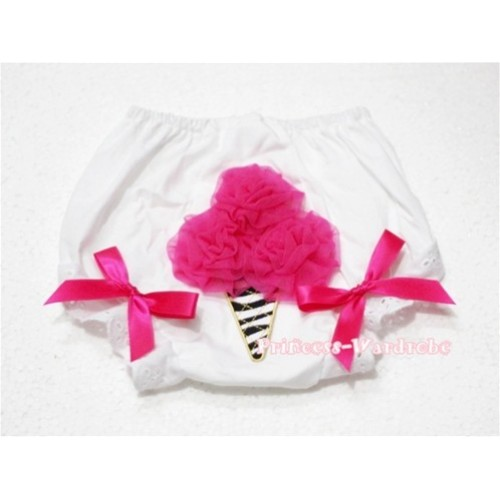Hot Pink Zebra Ice Cream Panties Bloomers BD30