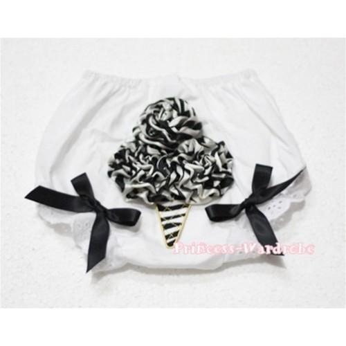 Zebra Rose Zebra Ice Cream Panties Bloomers BD32