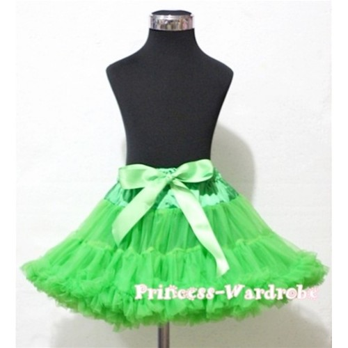 Dark Green Full Pettiskirt P16