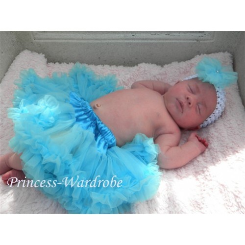 Light Blue New Born Pettiskirt N03