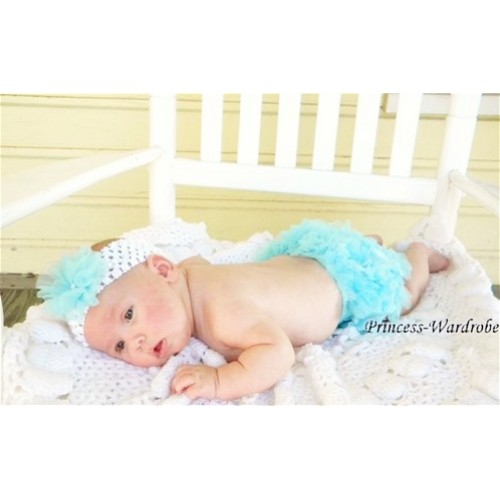 Light Blue Ruffles Bloomers B01