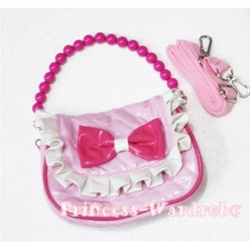 Light Pink Little Cute Handbag Petti Bag Purse Accessory CB02