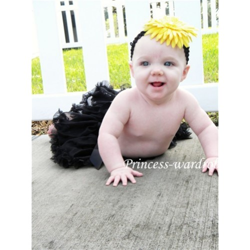 Black New Born Pettiskirt N15