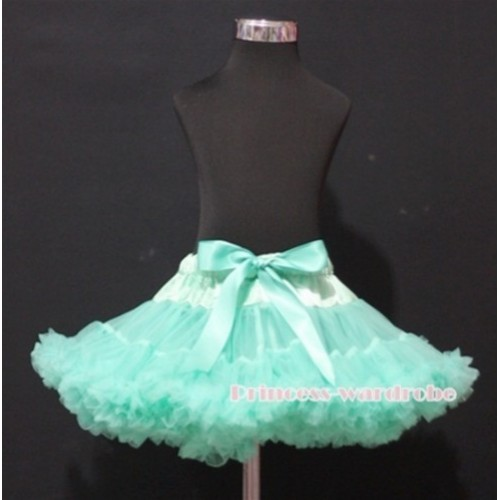 Aqua Blue Teen Full Pettiskirt XXL AP42