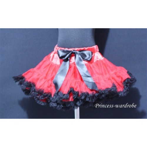 Red Black Pettiskirt P38