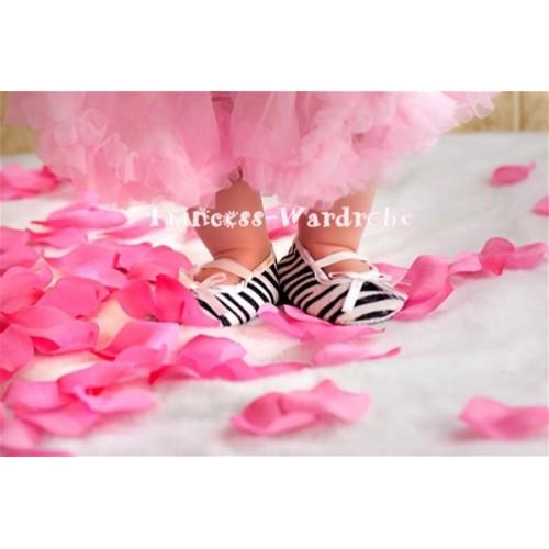Baby Zebra Crib Shoes S39