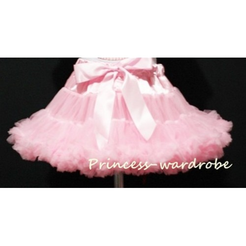Light Pink Teen Full Pettiskirt XXL AP01