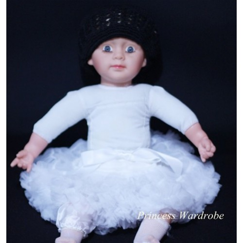 Pure White PREMIUM New Born Pettiskirt D03