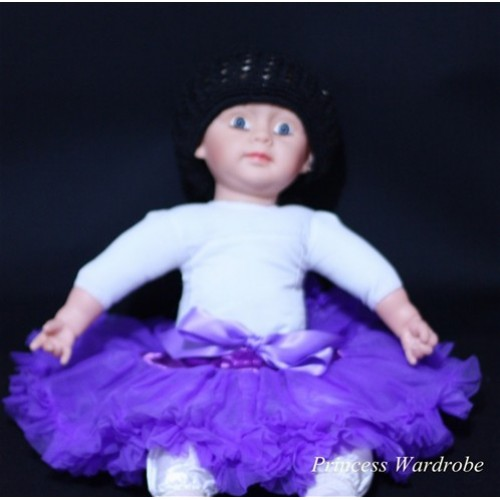 Dark Purple New Born Pettiskirt N29