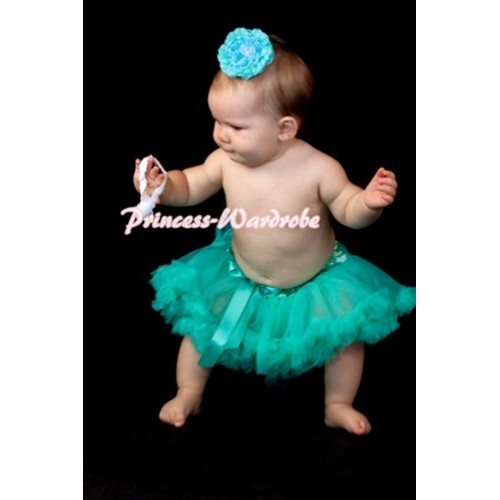 Aqua Blue New Born Pettiskirt N60