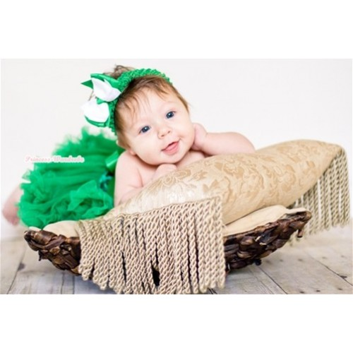 Kelly Green New Born Pettiskirt N098