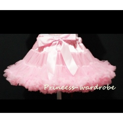 Light Pink Adult Full Pettiskirt XXXL AP48