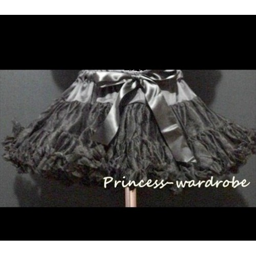 Black Adult  Full Pettiskirt XXXL AP51