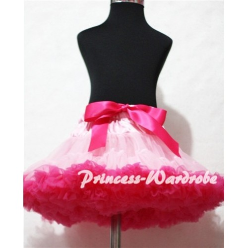 Light Hot Pink Adult Full Pettiskirt XXXL AP52