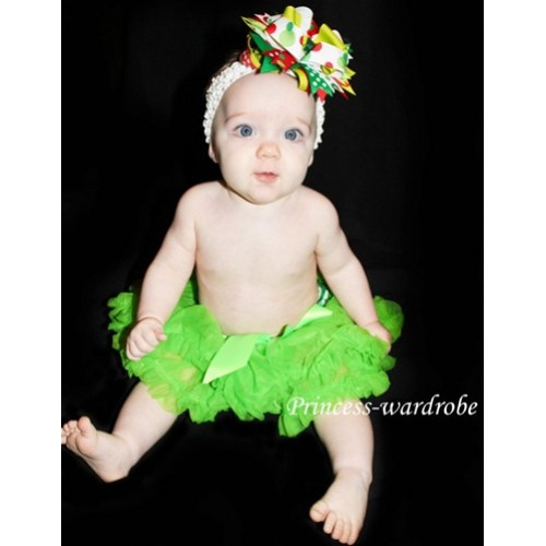 Lime Green New Born Pettiskirt N20
