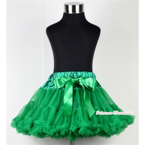 Kelly Green Teen Full Pettiskirt XXL AP57
