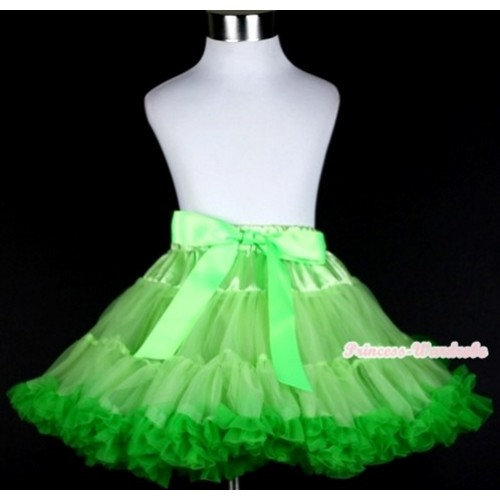 Light Dark Green Pettiskirt P147