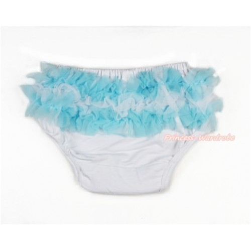 Argentina Light Blue White Ruffles World Cup Panties Bloomers B069