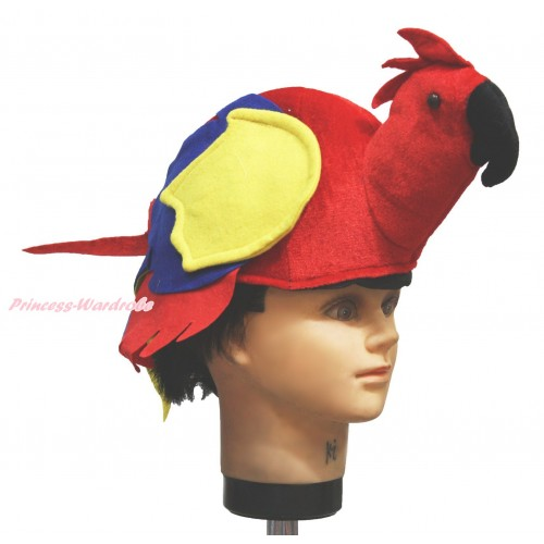 Hot Red Parrot Bird Costume Party Warm Hat H948