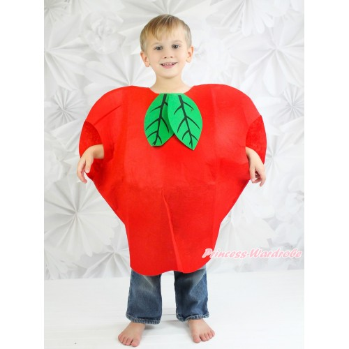 Big Apple Red Whole One Piece Party Fruit Costume C380