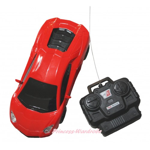 Hot Red Battery Remote Radio Control Racing Car Toy TY011