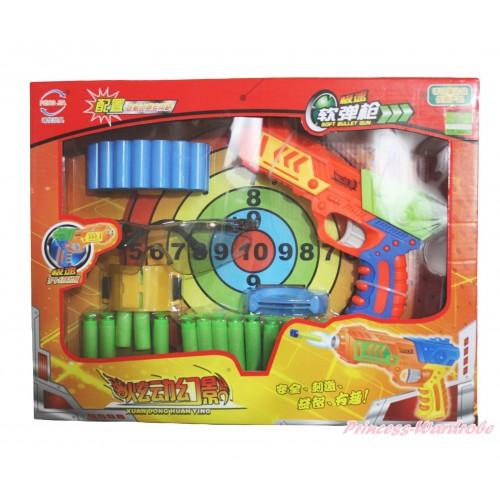 Orange Dart Soft Bullet Target Gun Toy TY014