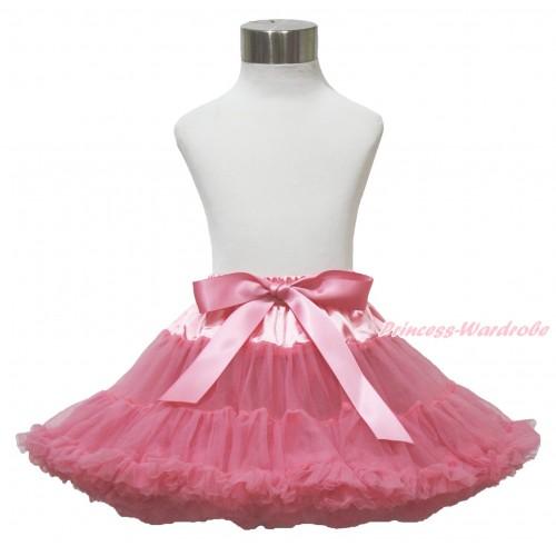 Dusty Pink Teen Full Pettiskirt XXL AP106