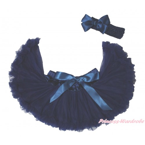 Navy Blue New Born Pettiskirt N246