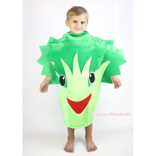 Broccoli Celery One Piece Party Vegetables Costume C405
